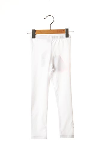 Legging blanc 3 POMMES pour fille