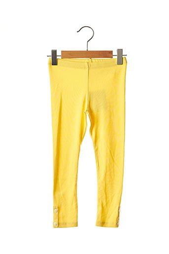 Legging jaune ABSORBA pour fille