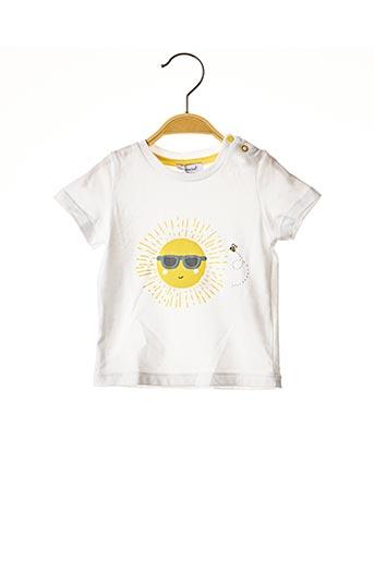T-shirt manches courtes blanc ABSORBA pour fille
