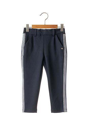 Pantalon chic bleu 3 POMMES pour fille