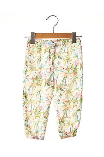 Pantalon casual vert 3 POMMES pour fille