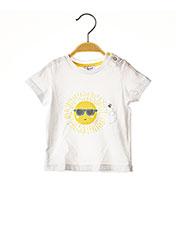 T-shirt manches courtes blanc ABSORBA pour fille seconde vue