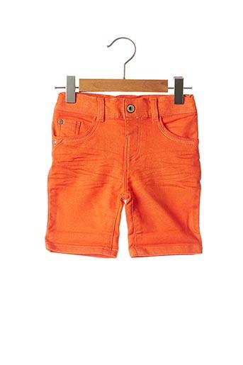 Bermuda orange 3 POMMES pour garçon