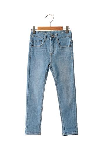 Jeans coupe slim bleu 3 POMMES pour garçon
