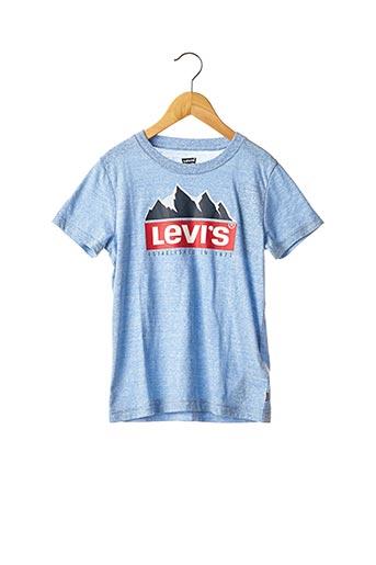 T-shirt manches courtes bleu LEVIS pour garçon