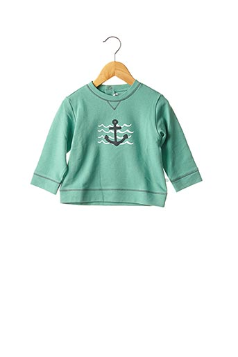 Sweat-shirt vert ABSORBA pour garçon
