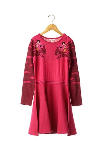 Robe pull rose CATIMINI pour fille