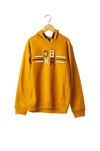 Sweat-shirt orange BECKARO pour garçon