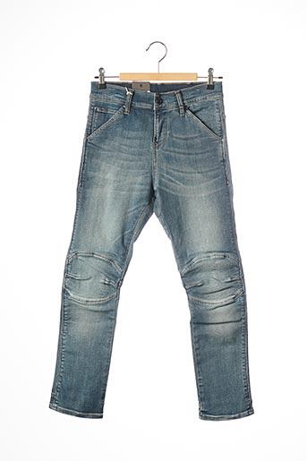 Jeans coupe slim bleu RAW-7 pour garçon