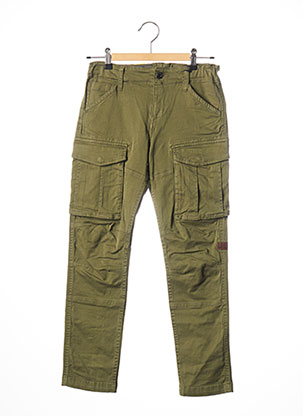 Pantalon casual vert RAW-7 pour garçon
