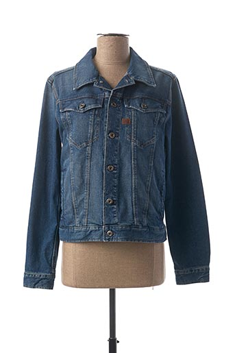 Veste en jean bleu RAW-7 pour fille