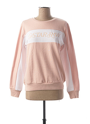 Sweat-shirt rose RAW-7 pour fille