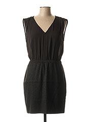 Robe mi-longue noir ONLY pour femme seconde vue