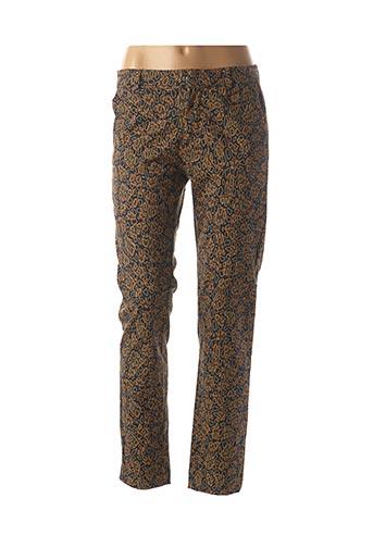 Pantalon casual noir BÔ-M pour femme