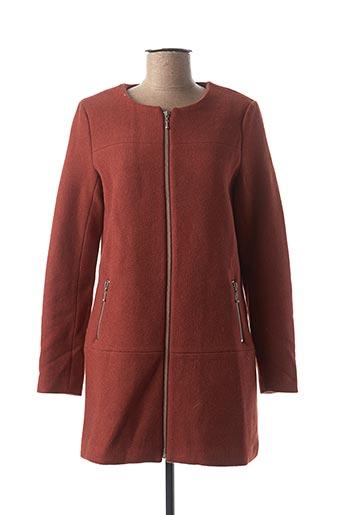 Manteau long marron ONLY pour homme