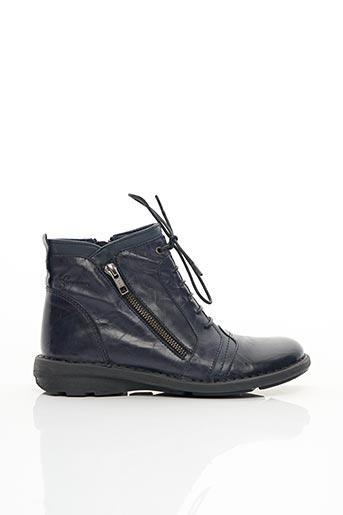 Bottines/Boots bleu DORKING pour femme