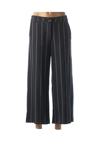 Pantalon 7/8 noir LA FEE MARABOUTEE pour femme