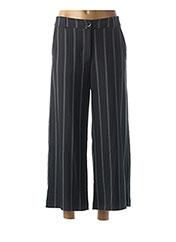 Pantalon 7/8 noir LA FEE MARABOUTEE pour femme seconde vue