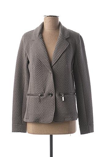 Veste chic / Blazer gris JENSEN pour femme