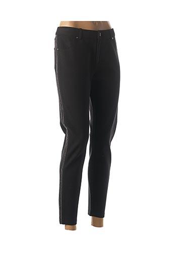 Pantalon 7/8 noir LCDN pour femme