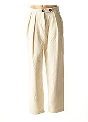 Pantalon casual beige MAISON HAUSSMANN pour femme seconde vue