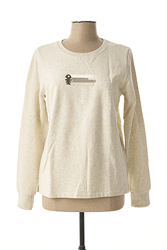 Sweat-shirt beige DIPLODOCUS pour femme