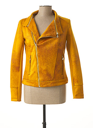 Veste casual jaune DESIGUAL pour femme