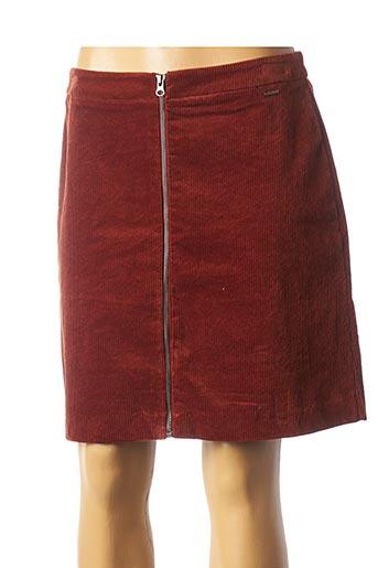 Jupe courte marron B.YOUNG pour femme