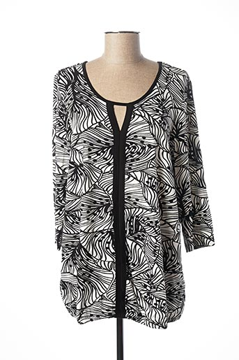 T-shirt manches longues noir CISO pour femme