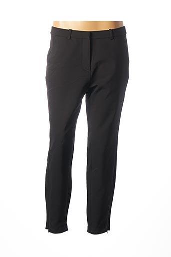 Pantalon 7/8 noir FRANSA pour femme