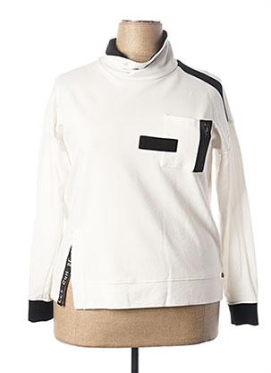 Sweat-shirt blanc MADO ET LES AUTRES pour femme