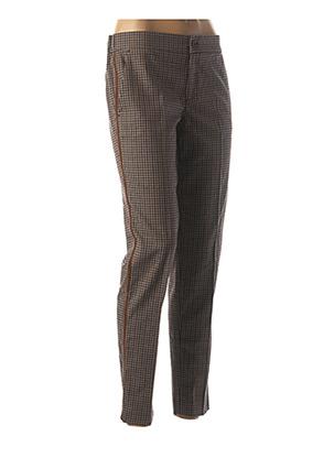 Pantalon 7/8 marron FIVE pour femme