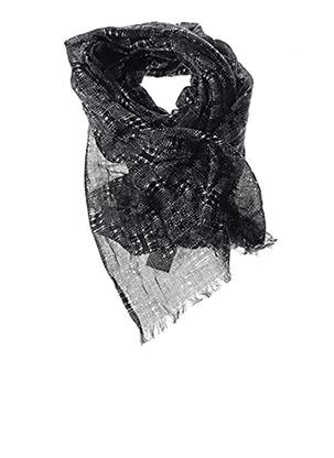 Foulard noir LA FEE MARABOUTEE pour femme