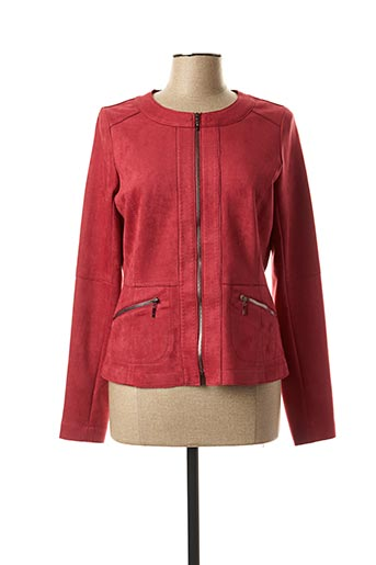 Veste casual rouge REVER MILE pour femme