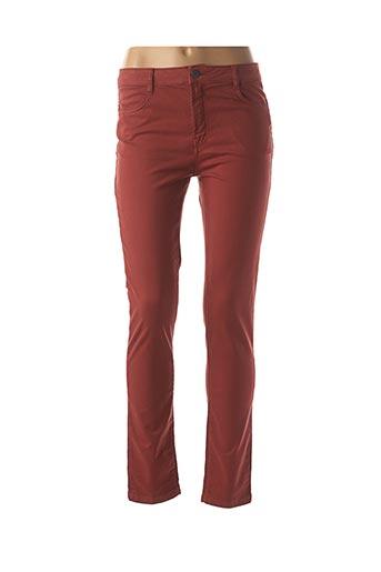 Pantalon casual orange LE PETIT BAIGNEUR pour femme