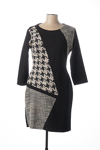 Robe courte noir DESIGUAL pour femme