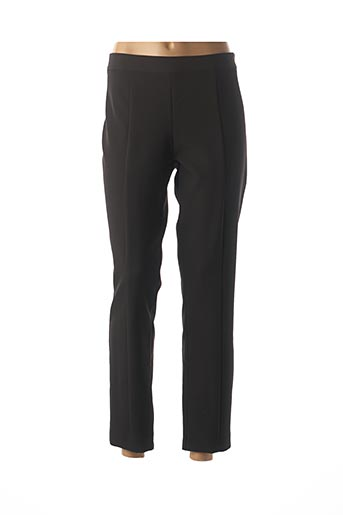 Pantalon casual noir INTROPIA pour femme