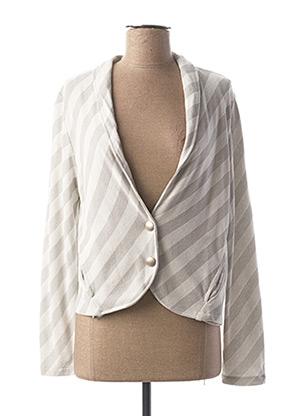 Veste casual gris AMS PURE pour femme