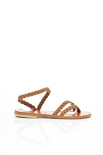 Sandales/Nu pieds marron DIEGA pour femme