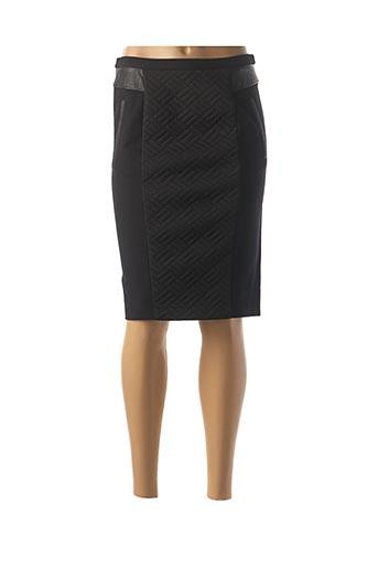 Jupe mi-longue noir IKKS pour femme