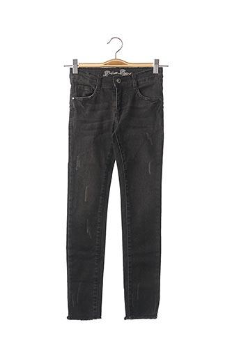 Jeans coupe droite noir BECKARO pour fille