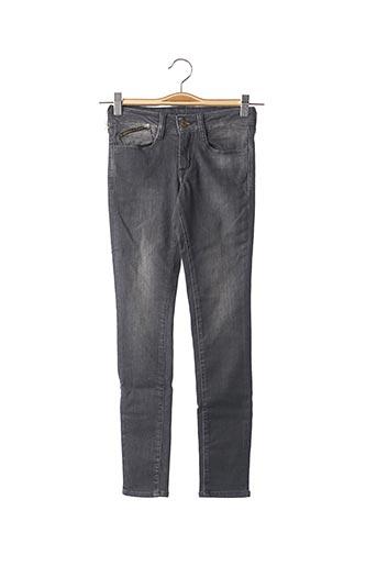Jeans coupe droite gris LE TEMPS DES CERISES pour garçon