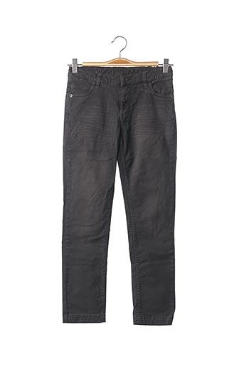 Jeans coupe droite noir 3 POMMES pour garçon