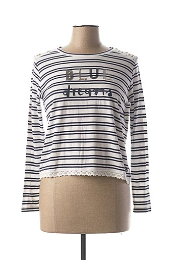 T-shirt manches longues bleu BECKARO pour fille