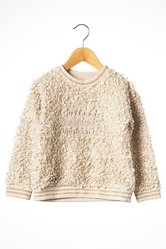 Sweat-shirt beige MAYORAL pour fille