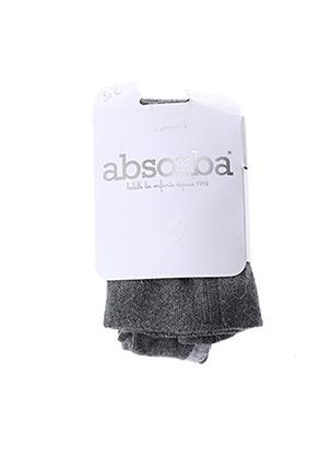 Collants gris ABSORBA pour fille