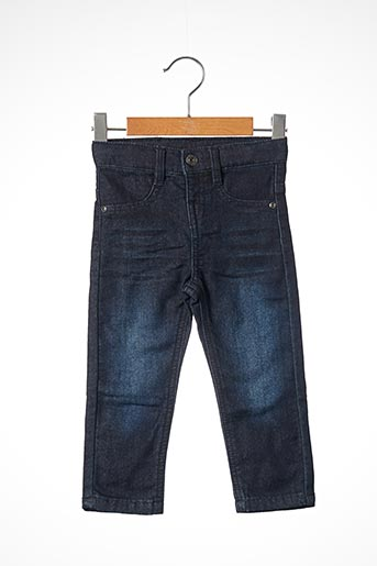 Jeans coupe slim bleu 3 POMMES pour enfant