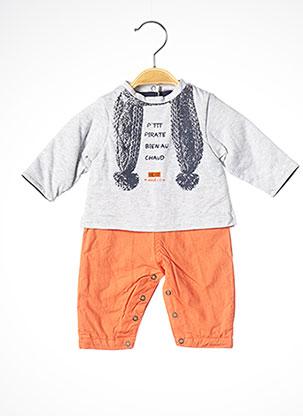 Combi-pantalon orange 3 POMMES pour garçon