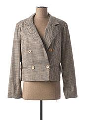Veste chic / Blazer beige JUS D'ORANGE pour femme seconde vue