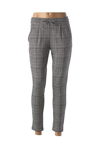 Pantalon casual gris LES P'TITES BOMBES pour femme